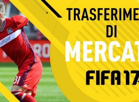 FIFA 17 : Trapelano le prime voci di mercato