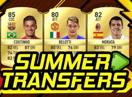 FIFA 18 : Trapelano le prime voci di mercato
