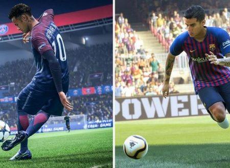 commenti su FIFA 18 vs PES 18